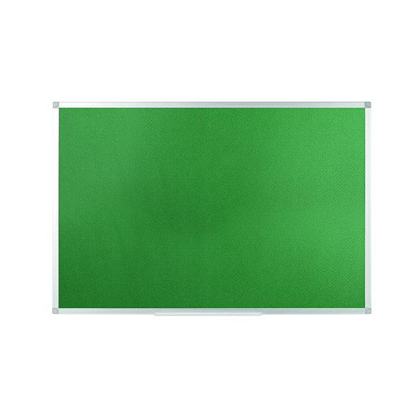 Q Connect 1200x900mm Aluminium Frame Green Notice Board 54034204