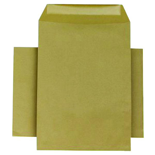 Q-Connect Envelope 254x178mm Pocket Self Seal 90gsm Manilla (250 Pack) KF3445