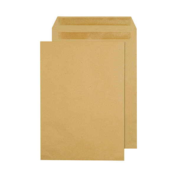 Q-Connect C4 Envelope 80gsm Self Seal Manilla (250 Pack) 3470