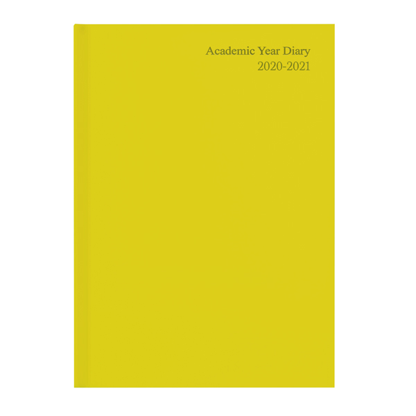 Academic Diary Week to View A5 Yellow 2020-21 KF3A5AYL20