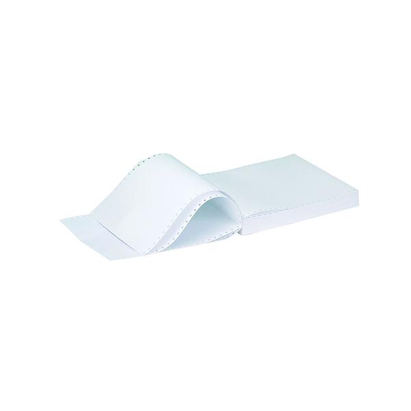 Q-Connect Listing Paper 11 x 9.5 Inches 2-Part NCR Plain (1000 Pack) C2NPP