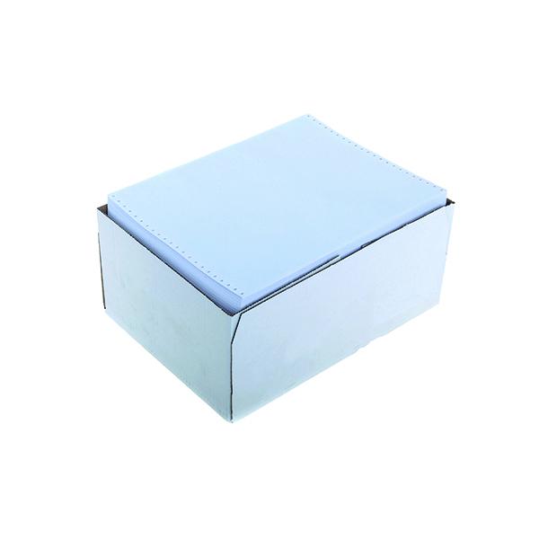 Q-Connect Listing Paper 11 x 14.5 Inches 1-Part 60gsm Plain (2000 Pack) J16P