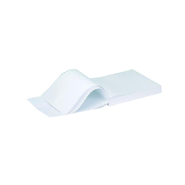 Q-Connect Listing Paper 11 x 9.5 Inches 3-Part NCR Plain (700 Pack) C3NPP