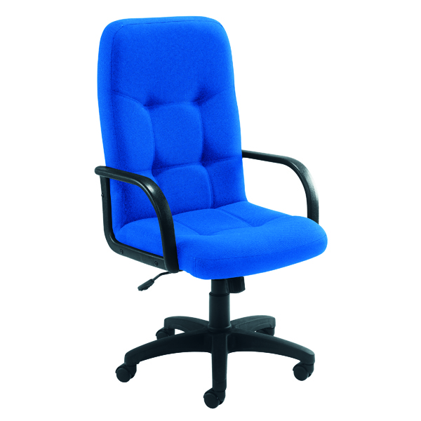 Arista High Back Royal Blue Manager Chair KF50113