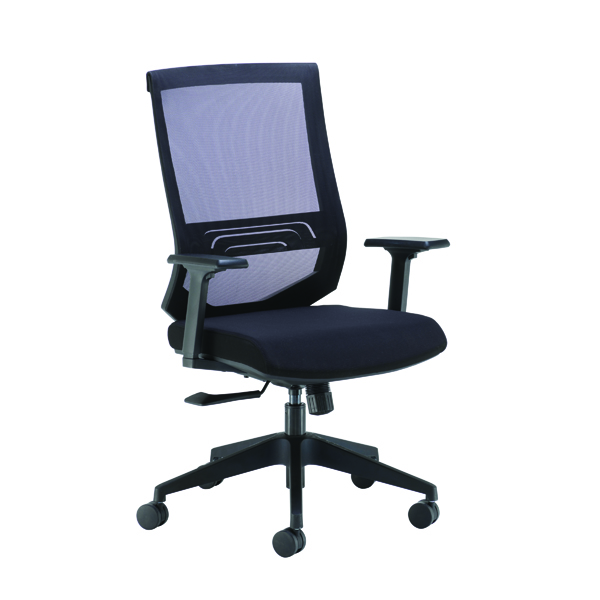 Arista Octave High Back Executive Mesh Chair Black KF71482