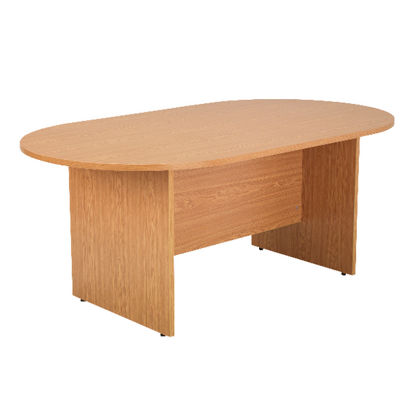 Arista Oak 1800mm Rectangular Meeting Table KF72040