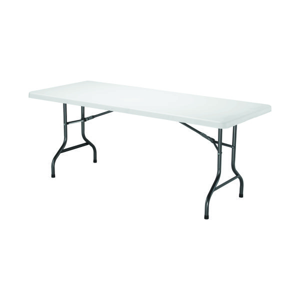Jemini White 1830mm Folding Rectangular Table KF72330