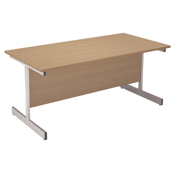 Arista 1200mm Cantilever Table Oak KF72356