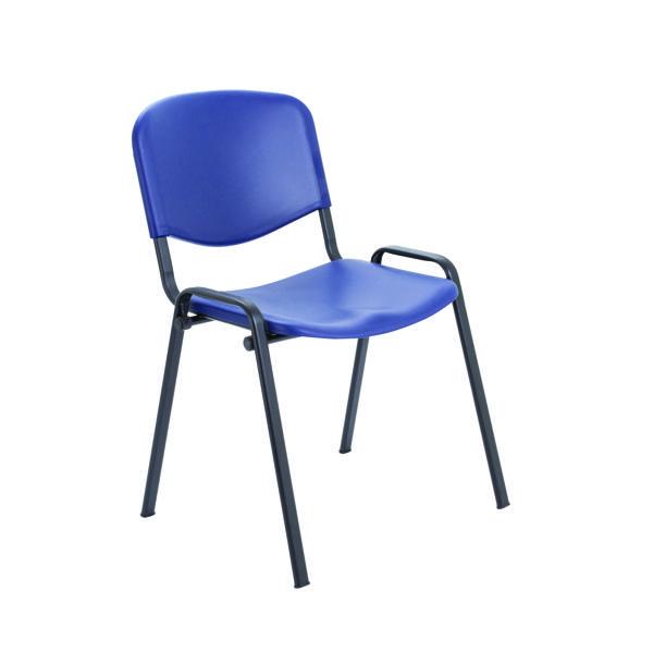 Jemini Multi Purpose Polypropylene Stacking Chair Blue KF72368