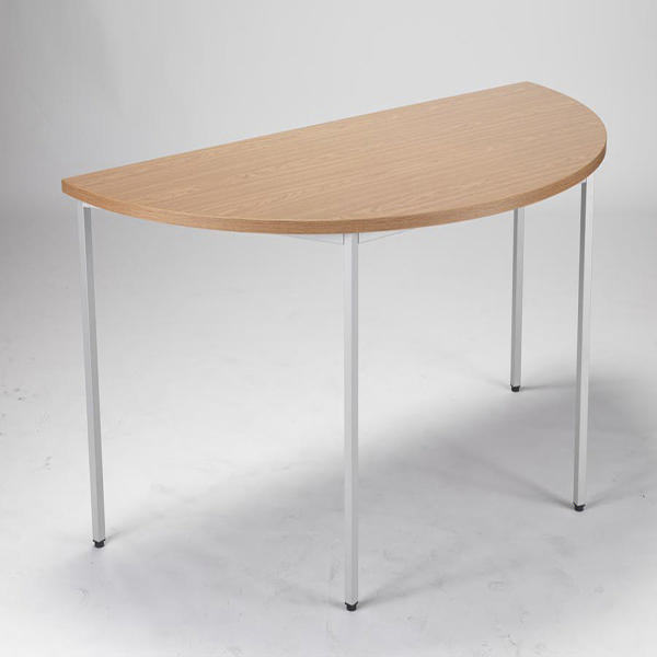 Jemini 1600mm Oak Semi-Circular Table KF72383