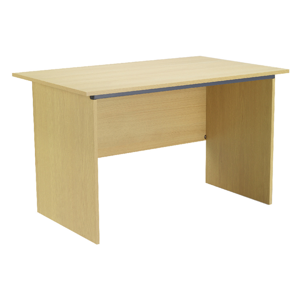 Serrion Ferrera Oak 1200mm Panel End Desk KF73661