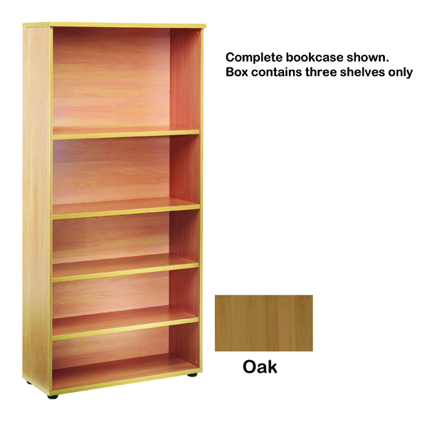 Jemini Open Storage Oak Shelf KF73699