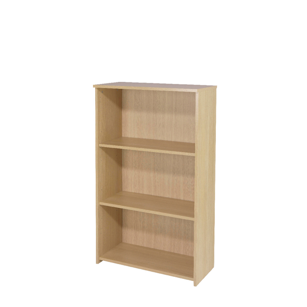 Jemini Warm Maple 1200mm Medium Bookcase KF73834