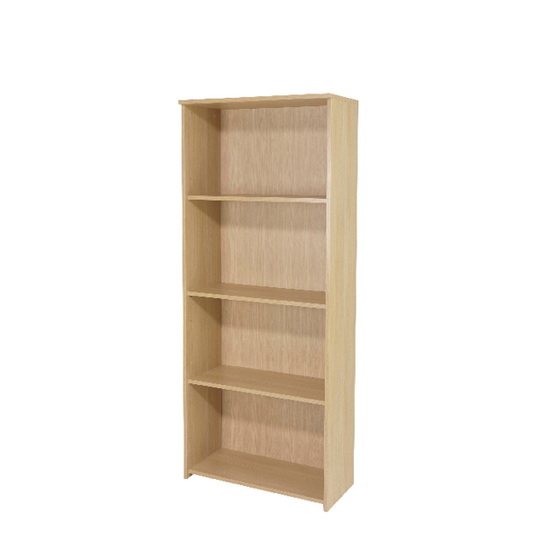 Jemini Warm Maple 1750mm Large Bookcase KF73835