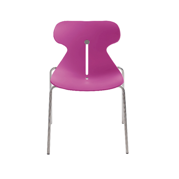 Arista Breakout Chair Fuchsia (Pack of 1) KF73897