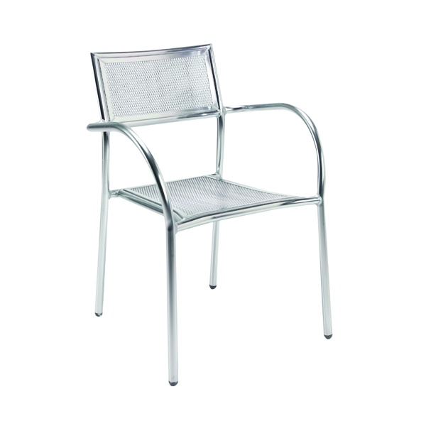 Arista Aluminium Mesh Chair KF73900