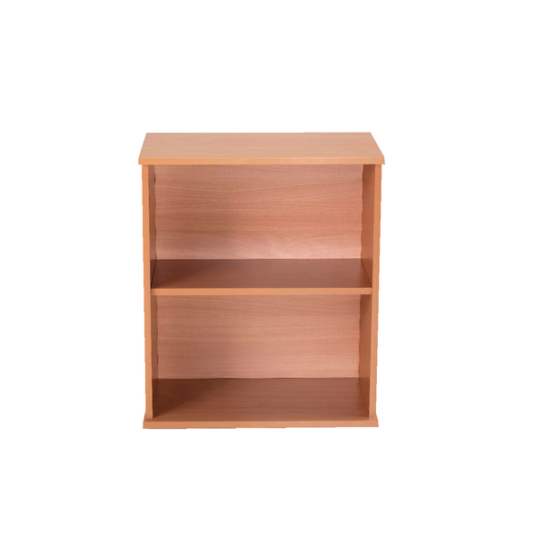 Jemini Intro 600mm Bavarian Beech Desk High Bookcase KF74138