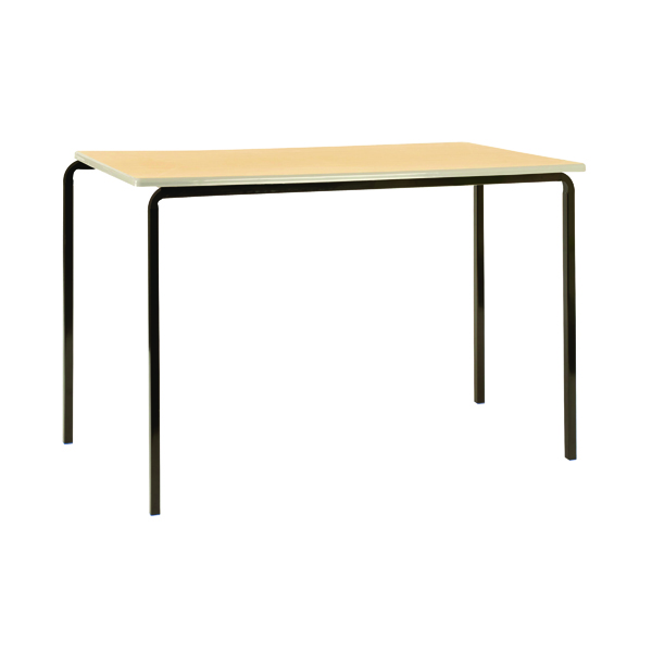 Jemini MDF Edge 1100x550x590mm Beech Top Class Table (4 Pack) KF74556