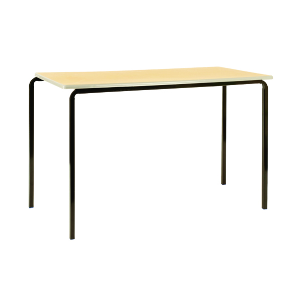 Jemini MDF Edge 1100x550x710mm Beech Top Class Table (4 Pack) KF74558