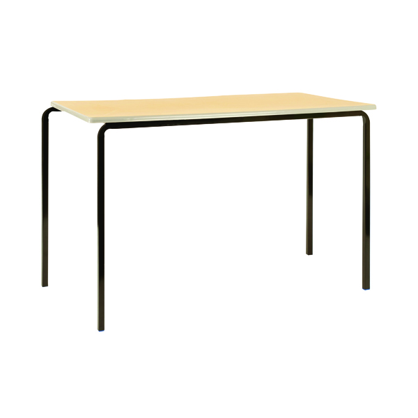 Jemini MDF Edge 1100x550x760mm Beech Top Class Table (4 Pack) KF74560