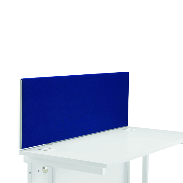 First Desk Mounted Screen H400 x W1200 Special Blue KF74836