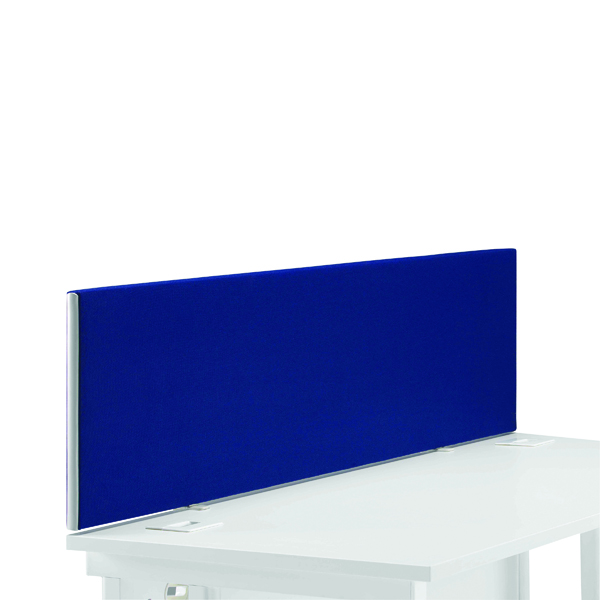 First Desk Mounted Screen H400 x W1400 Special Blue KF74838