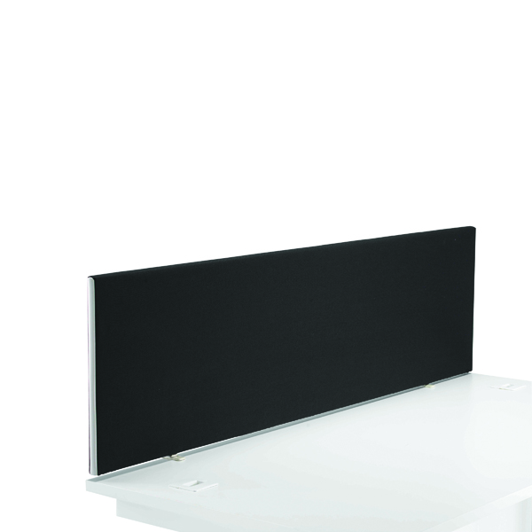 First Desk Mounted Screen H400 x W1400 Special Black KF74839