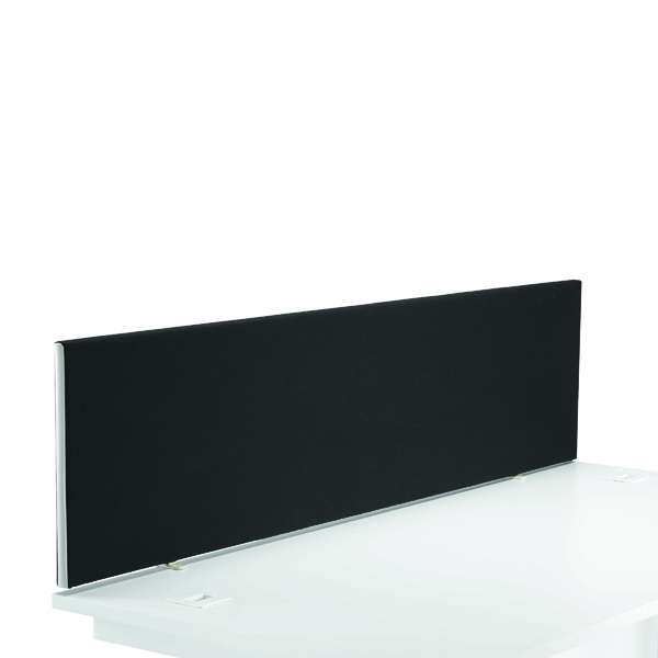 First Desk Mounted Screen H400 x W1800 Special Black KF74843