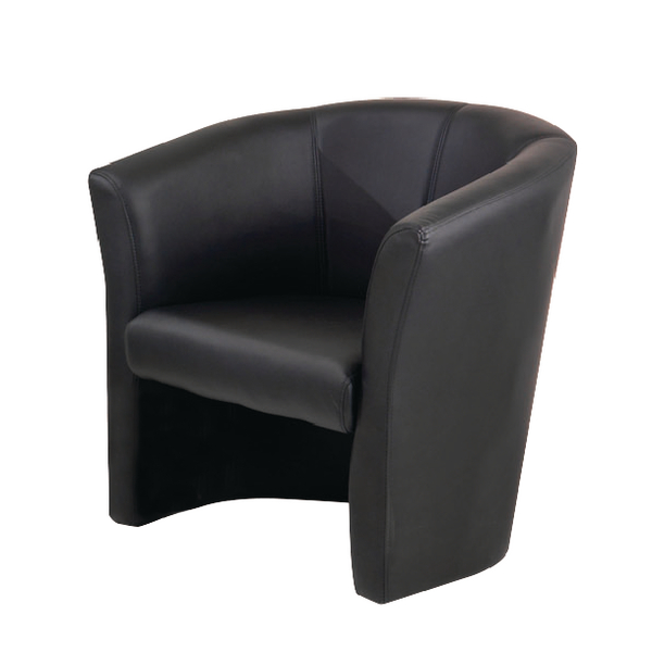 First Tub Chair Black KF74899