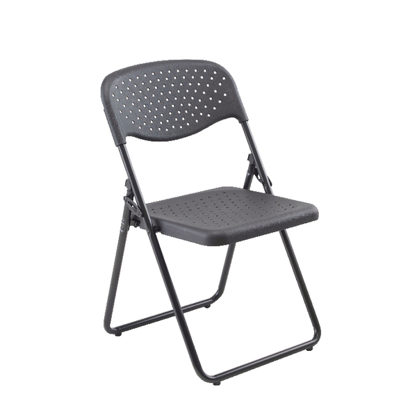 Jemini Folding Chair Black (4 Pack) KF74963