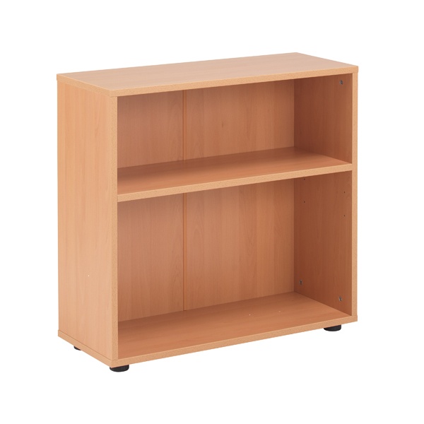 Jemini 18 Beech 720mm Desk High Bookcase KF78964