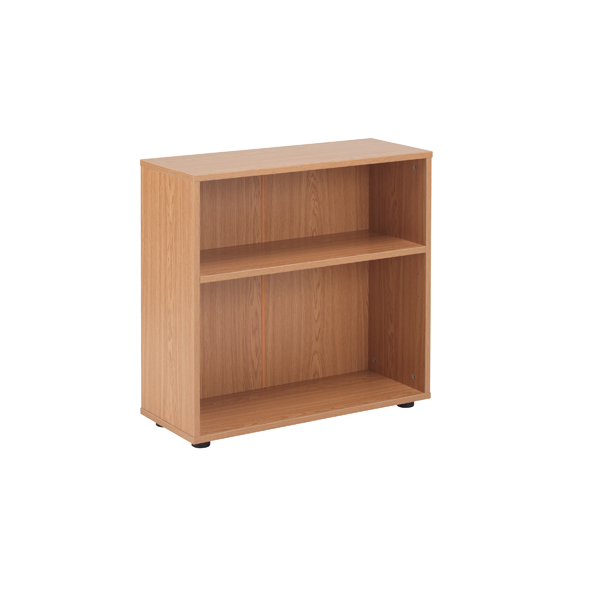 Jemini 18 Oak 720mm Desk High Bookcase KF78965