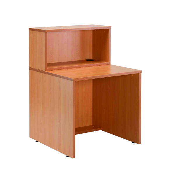Jemini Beech D800 Modular Straight Reception Hutch KF78968