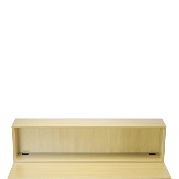 Jemini Maple D1600 Modular Straight Reception Hutch KF78974