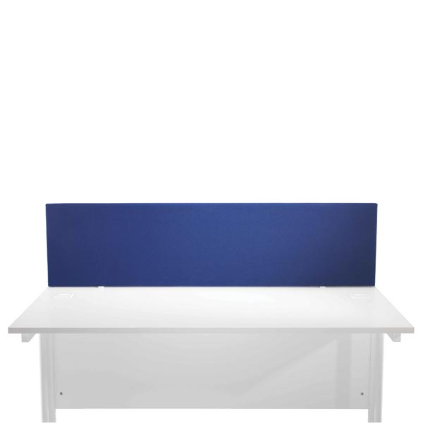 Jemini Blue 800mm Straight Desk Screen KF78976