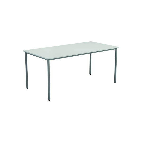 Jemini White Multipurpose Rectangular Table W1200mm KF79023