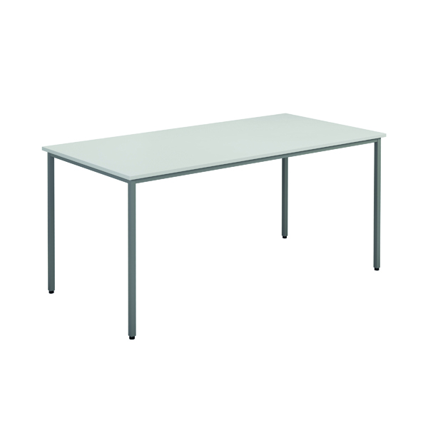 Jemini White Multipurpose Rectangular Table W1600mm KF79026