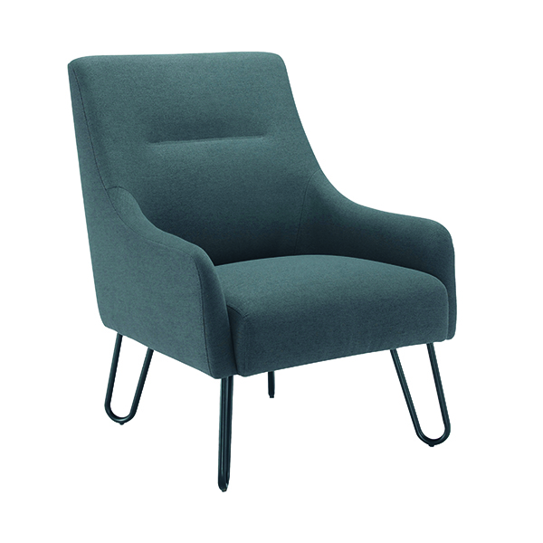 Jemini Grey Reception Armchair KF79142