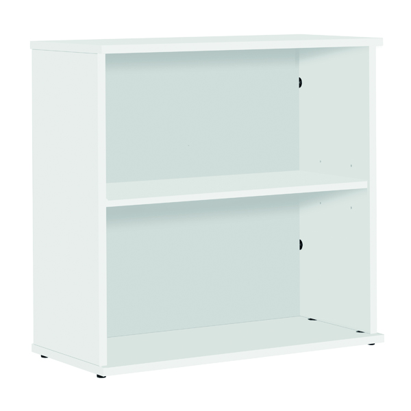 Serrion Bookcase 800mm White E800BCWH