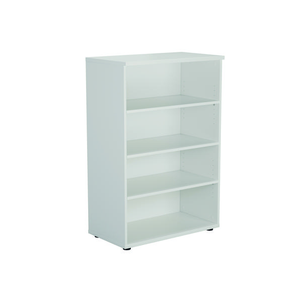 Serrion Bookcase 1200mm White E1200BCWH
