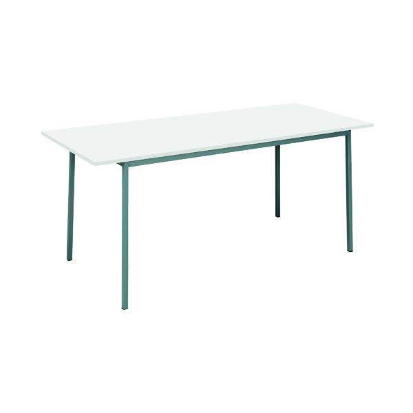Serrion Rectangular Table 1800mm White ERECT1800WH