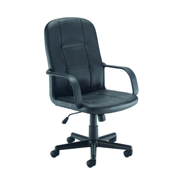 Jemini Jack 2 Leather Look Executive Chair Black KF79887