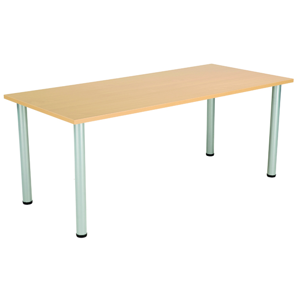 Serrion Rectangular Folding Table Oak KF800245