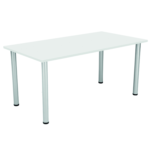 Serrion Rectangular Folding Table White KF800251