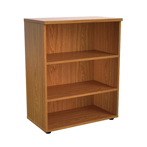 First 1000mm 1 Shelf Wooden Bookcase 450mm Depth Nova Oak KF803621