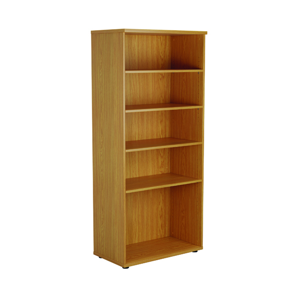 First 1800mm 4 Shelf Wooden Bookcase 450mm Depth Nova Oak KF803720