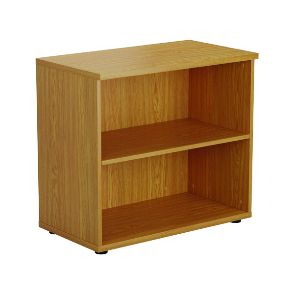 First 700mm 1 Shelf Wooden Bookcase 450mm Depth Nova Oak KF803782