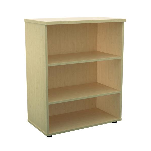 Jemini 1000mm 1 Shelf Wooden Bookcase 450mm Depth Maple KF810186