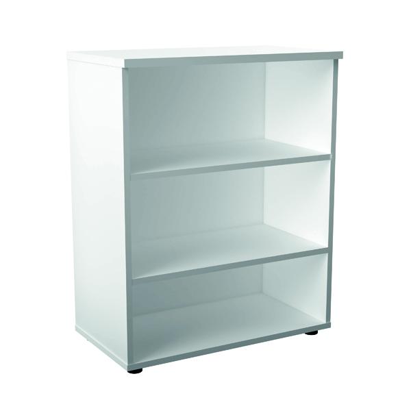 Jemini 1000mm 1 Shelf Wooden Bookcase 450mm Depth White KF810209