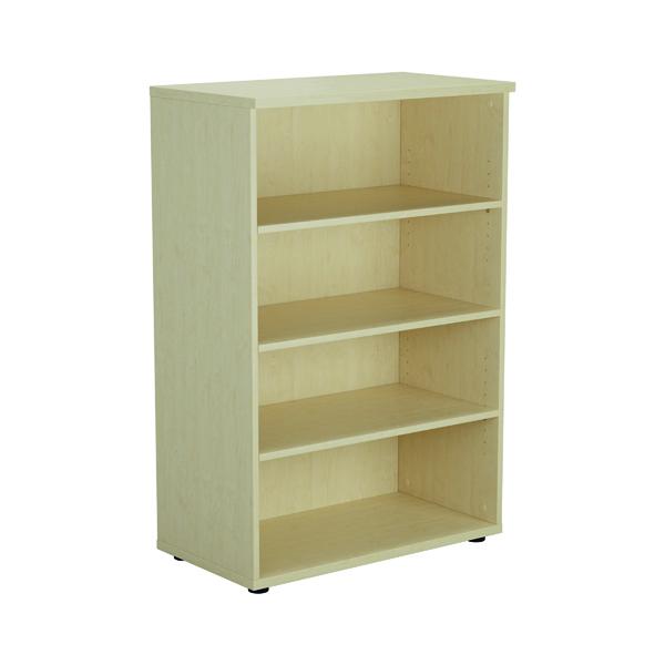 Jemini 1200mm 3 Shelf Wooden Bookcase 450mm Depth Maple KF810353